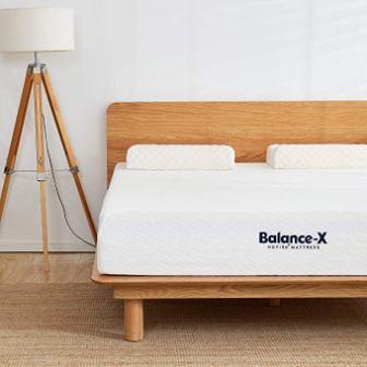 HOFISH 2019 Upgraded Balance-X 10-Inch Foam Mattress