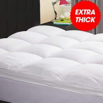 KARRISM Extra Thick Mattress Topper(King)