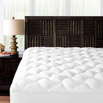 Mandarin Home Collection Ultra Soft Rayon Plush Mattress Topper, King