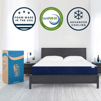 Marley 10-inch Mattress WIth Cooling Gel Memory Foam King Size From Sleep Innovations