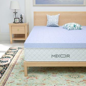 Mecor Memory Foam Mattress Topper