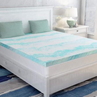 Milemont Memory Foam Mattress Topper