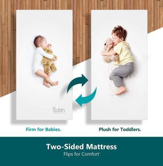 Moonlight Slumber Dual Sided Baby Crib Mattress