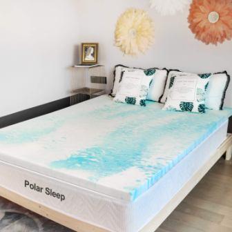 POLAR SLEEP 3-Inch Mattress Topper