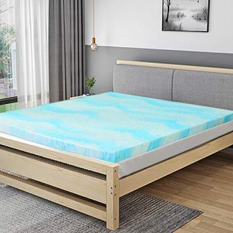 Polar Sleep Memory Foam Mattress Topper