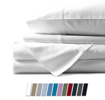 Pure Egyptian cotton bed sheets by Mayfair Linen