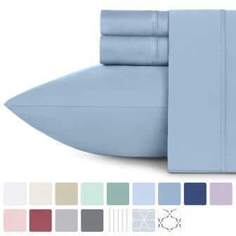 Pure cotton bed sheets set by California Design Den