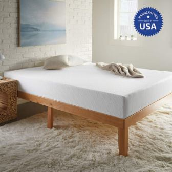SLEEPINC. Medium Firm 8-Inch Memory Foam Bed-In-a Box Mattress King Size
