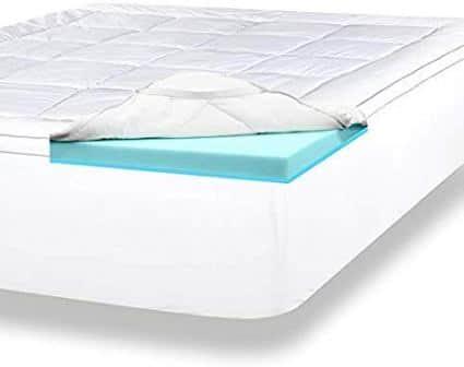 ViscoSoft 4-Inch Pillow Top Mattress Topper