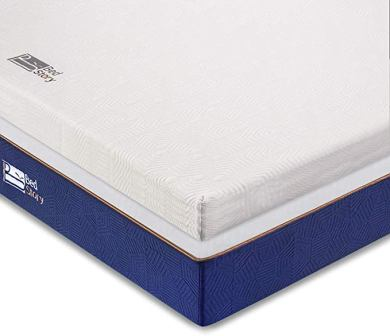 """BedStory 10"""" Latex-Infused Memory Foam and Pocket Spring Mattress"""