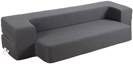 HonTop 8-Inch Queen-Size Memory Foam Sofa Bed