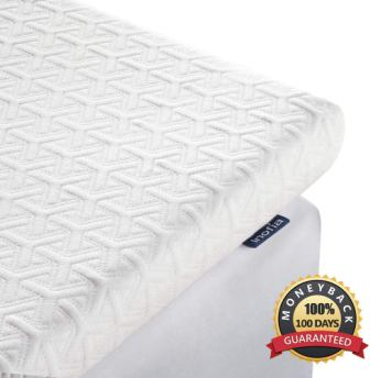 Inofia 2.5 Inch Memory Foam Mattress Topper Twin XL