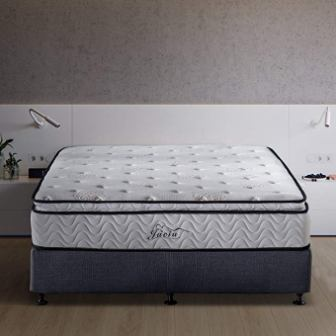 Jacia House 11.4 Inches Pocket Spring Hybrid Mattress