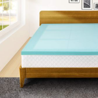 Memory Foam 2 Inch Twin XL Mattress Topper