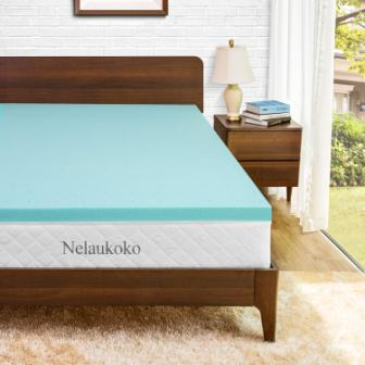 Nelaukoko Memory Foam Mattress Topper Twin XL