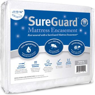 SureGuard Premium Zippered Mattress Encasement