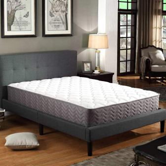 Swiss Ortho Sleep 12-Inch Plush Pillow Top & Pocket Spring Mattress