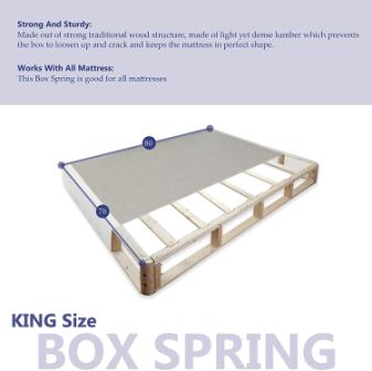 Top 10 Best King-Size Box Springs in 2020