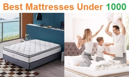 Top 15 Best Mattresses Under 1000 in 2020