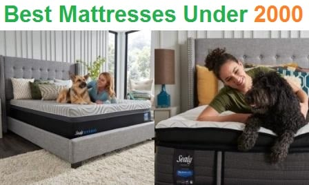 Top 15 Best Mattresses Under 2000 in 2020
