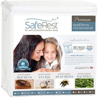 afeRest Premium Zippered Mattress Encasement
