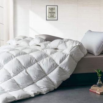 APSMILE All Seasons European Goose Down Comforter