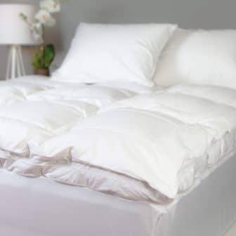 Allied Essentials Luxe White Down and Goose Feather Mattress Topper