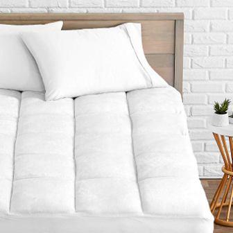 Bare Home Pillow-Top Mattress Pad