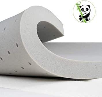 BedStory 2 Inch Memory Foam Mattress Topper