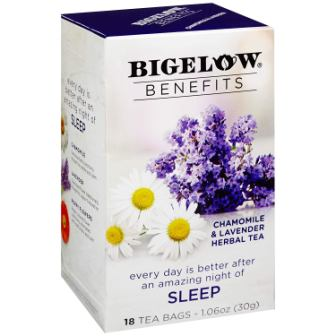 Bigelow Benefits Sleep Chamomile & Lavender Herbal Tea