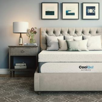 Classic Brands Cool Gel 1.0 Ultimate Gel Memory Foam 14-Inch Mattress