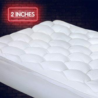 Cotton House Luxury Quality Mattress Pad