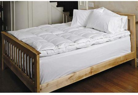 Daniadown White Goose Pillow Top Feather Bed