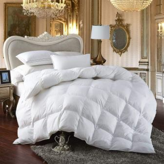Egyptian Bedding Premium All-Season Siberian Goose Down Comforter
