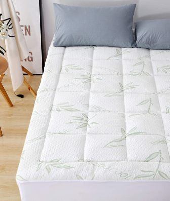 Elegant Comfort Premium Bamboo Mattress Pad