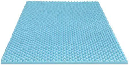 Furinno Angeland 2-Inch Egg Crate Gel HD Foam Mattress Topper