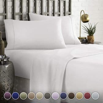 HC COLLECTION Hotel Bed Sheets Set
