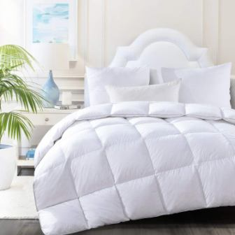 HOMBYS Luxury Real California Goose Down Comforter