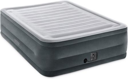 Intex Comfort Elevated Plush Dura-Beam Airbed