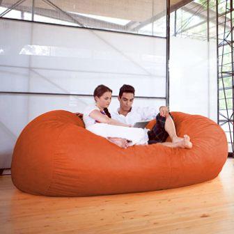 Jaxx 7-Foot Bean Bag Sofa