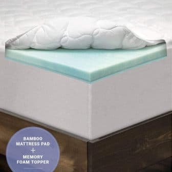 LANGRIA 3-Inch Mattress Toppers
