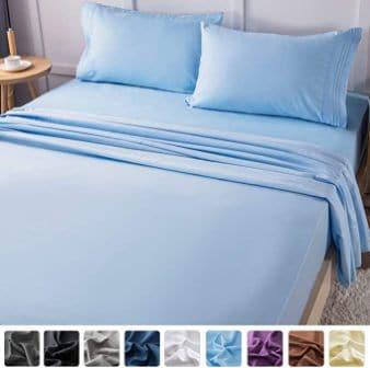 LIANLAM Queen Bed Sheets Set