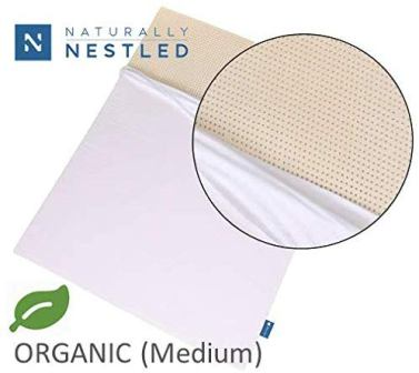 Naturally Nestled Certified Organic Latex Cal King Mattress Topper