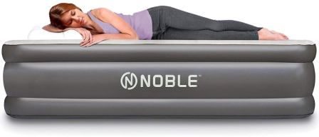 Noble Double High Raised Luxury Upgraded Air Mattress