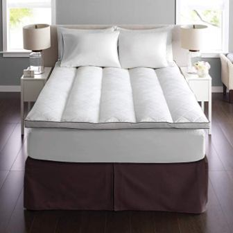 Pacific Coast Euro Rest Quilt Top Down Mattress Topper
