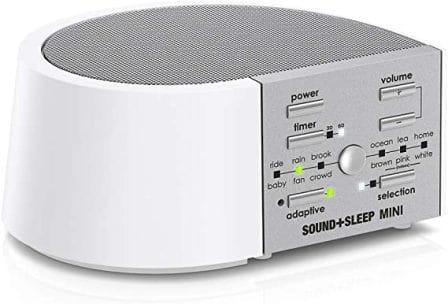 SOUND + SLEEP HIGH-FIDELITY SLEEP SOUND MACHINE