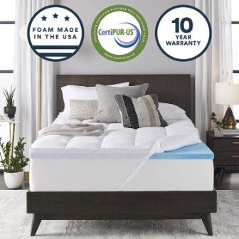 Sleep Innovations Twin Mattress Topper