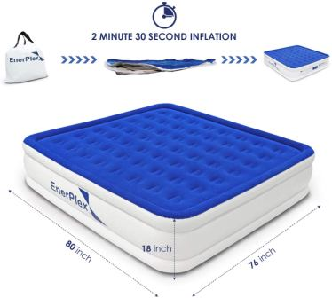 Top 15 Best Air Mattresses with Electric Pump in 2020
