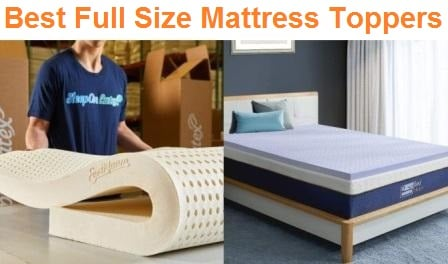 Top 15 Best Full Size Mattress Toppers In 2020 Ultimate Guide