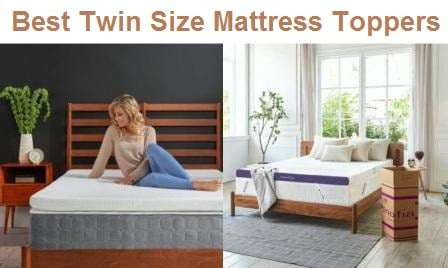 Top 15 Best Twin Size Mattress Toppers in 2020